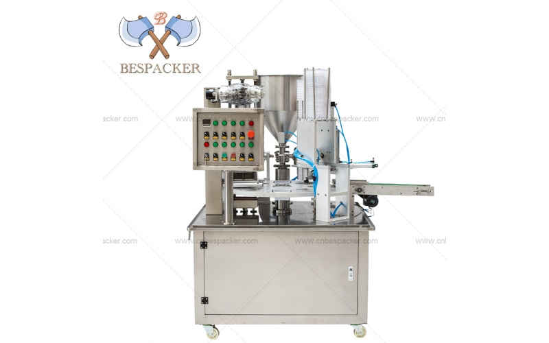 Bespacker XBG-900P Automatic rotary plastic water jelly cup filling sealing machine