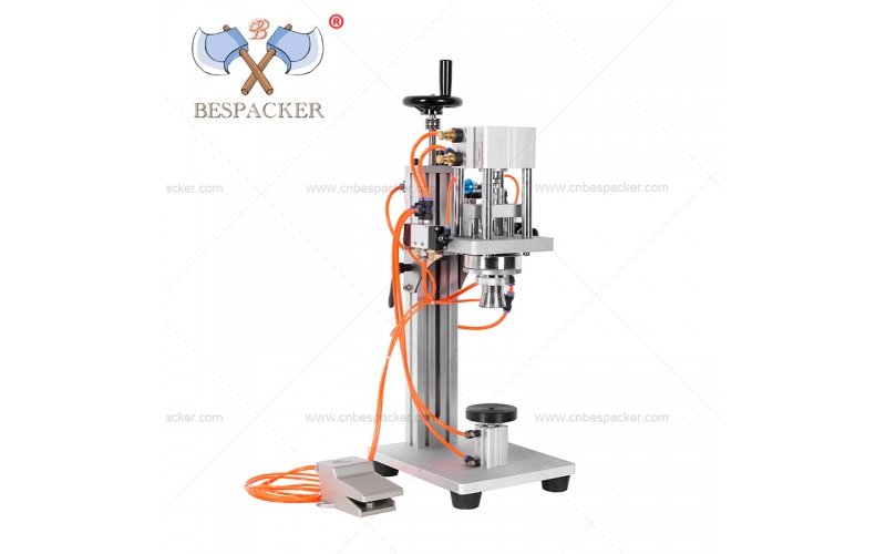 XK-C4 Semi-auto pneumatic type  PENICILLIN BOTTLE CAPPING MACHINE